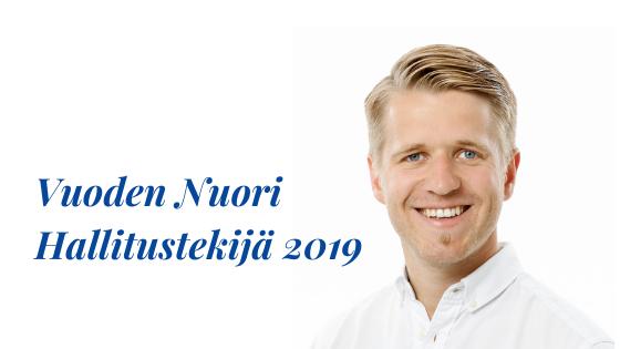 Vuoden Nuori Hallitustekijä 2019